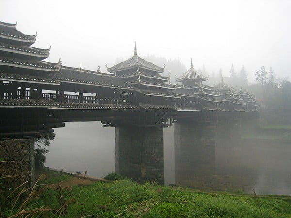 Chengyang Wind and Rain Bridge, Guangxi
