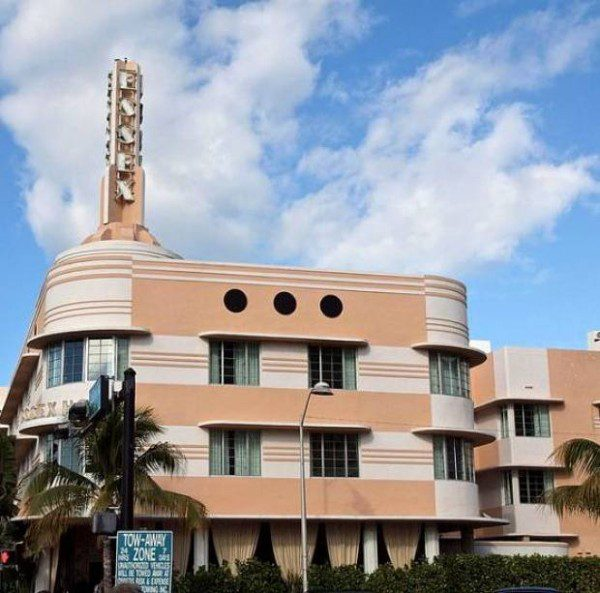 Essex House the Art Deco hotel Miami
