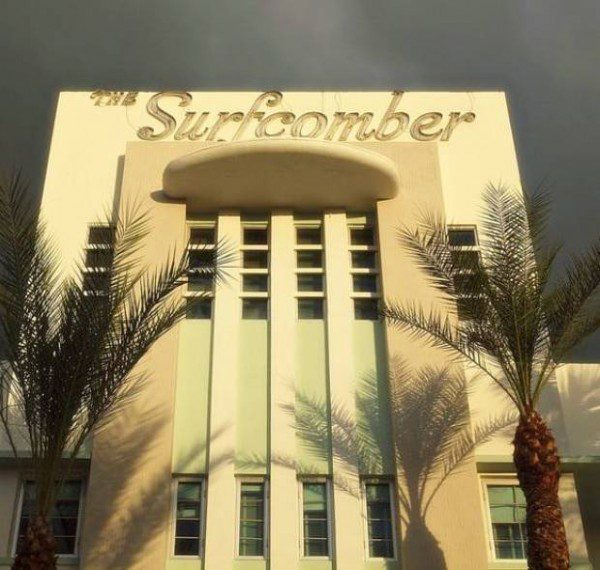 The Surfcomber Art Deco hotels Miami Beach