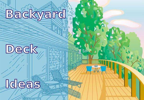Backyard deck ideas