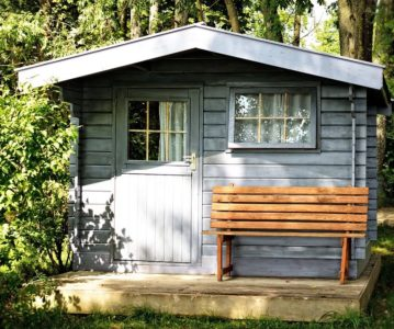 V Office Shed In Your Backyard