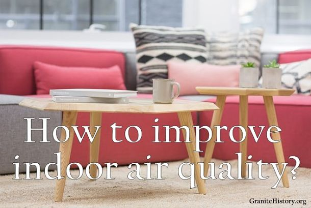 Ways to improve indoor air quality image