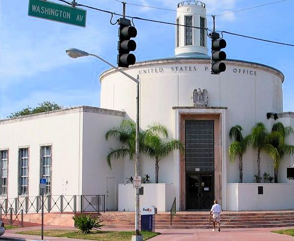 Post Office Miami Beach Art Deco