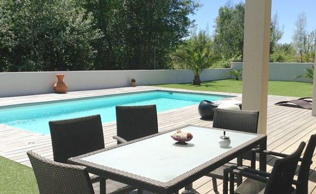 picture of pool and deck