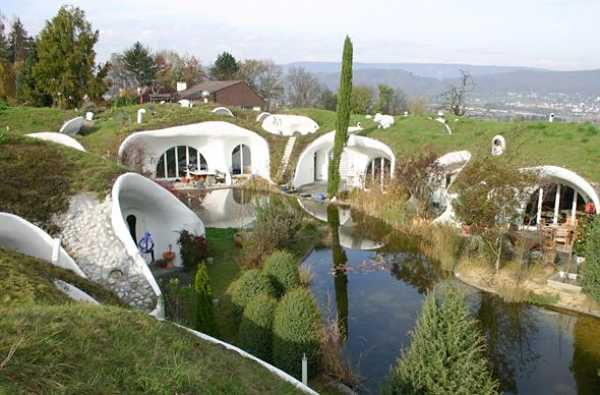 Underground houses in Switzerland